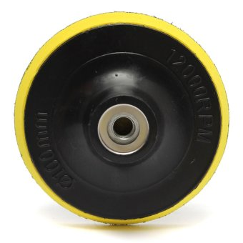 4 Inches 100mm Polisher Bonnet Backing Pad Angle Grinder Wheel Velcro Sand Paper Discs