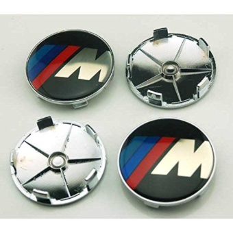 4 pcs 60mm Styling Accessories Auto Emblem Hub Wheel Caps Center Cover M For BMW - intl