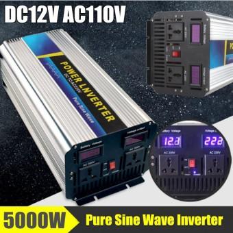 5000W Peak 10000W Pure Sine Wave Power Inverter DC12/24V To AC110/220V Two
