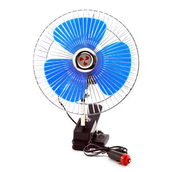 "6"" 12V Portable Vehicle Auto Car Fan Oscillating Car Auto CoolingFan Clip Type"