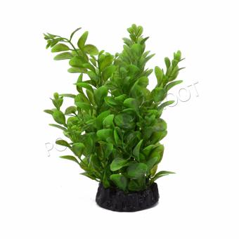 6 Inches Fish Tank Aquarium Decor Green Artificial Plastic GrassPlant Ornament