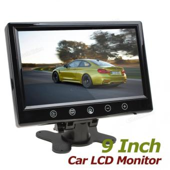 9 Inch Remote Control TFT LCD Screen Car Rear View Monitor - intl