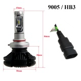 9005 HB3 200W 24000LM LED Car Headlight Bulb Low Beam CREE CSP Chips DIY 3000K/ ...
