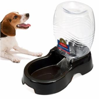 950ml Pet Dog Cat Large Automatic Waterer Drink Dispenser Food DishBowl Feeder