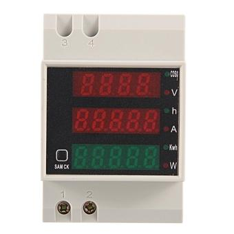 AC/AC Digital Power Electricity Watt Voltage Current Meter Voltmeter Ammeter
