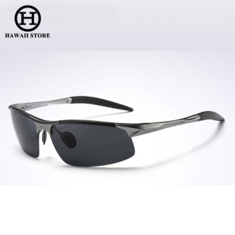 Aluminum Magnesium Alloy Polarized Sunglass For Men Outdoor Sport Driving Male Sun Glasses Day Vision???Grey Black??? Price Philippines