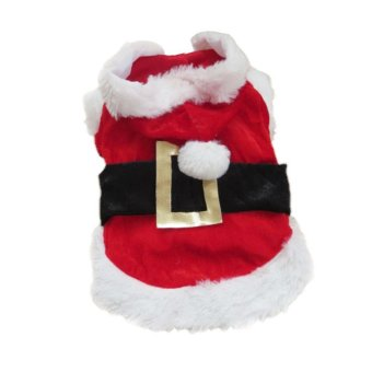 Amart Puppy Dog Christmas Clothes Santa Claus Costume (Size:XXS) -intl Price Philippines