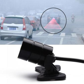 Anti Collision Car Laser Tail Fog Lights Auto Parking Warning Lamp for Ford Focus 2 for BMW E46 - intl