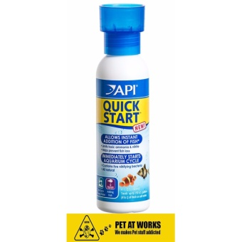 API QUICK START(R) (118ml) for Fresh Water Aquarium, New Tank andPlanted Tank