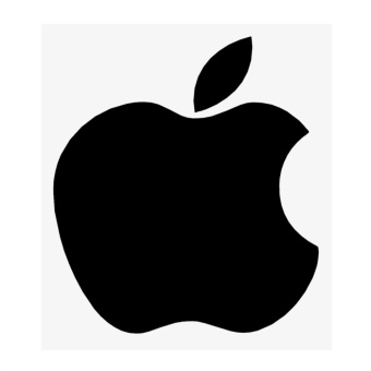 Apple Logo Car Stickers and Decals Car Window Decor Exterior Accessories Car- styling - intl