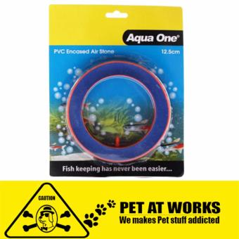 Aqua One Air Stone (Round) PVC air stone For fish and aquarium