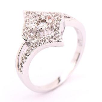 Athena & Co. 18k White Gold Plated Jasmine Ring Price Philippines