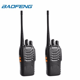 Baofeng BF-888S VHF/UHF FM TRANSCEIVER Walkie-Talkie Portable Two-Way Radio Set of 2
