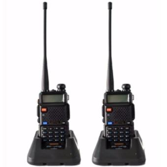 Baofeng /Pofung VHF/UHF Dual Band Two-Way Radio (Black) UV5R