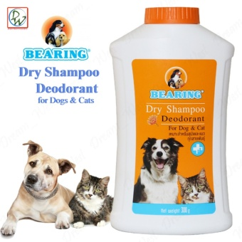 Bearing Dry Shampoo Deodorant for Dogs & Cats 300g