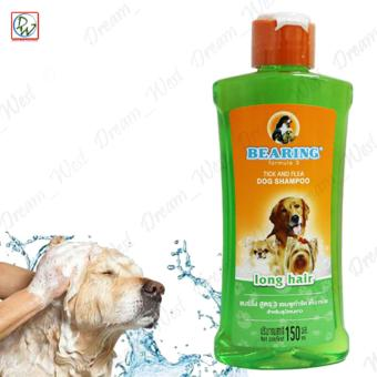 Bearing Tick and Flea Dog Shampoo for Long Hair Dog 150ml