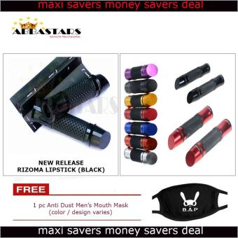 Black Lipstick Mid Year Released Motorcyle Handle Grip Aluminum Handle Bar for Yamaha Mio Sporty
