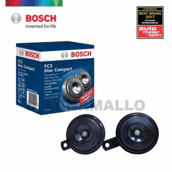Bosch FC2 Compact Normaltone Horn 12v 350/420Hz (Black)