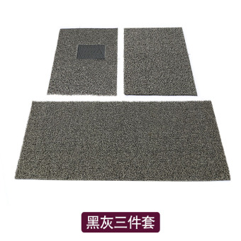 Can be cut wire ring mat single piece car mat