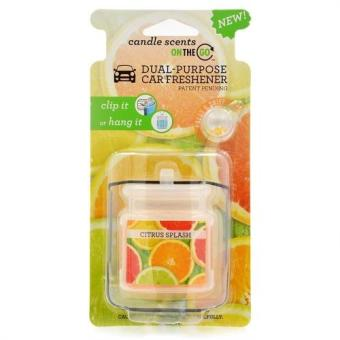 Car Citrus Splash Fragrance Perfume Can Air Freshener Choose YourScent