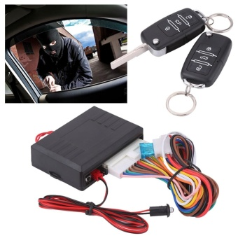 Car Universal Door Lock Locking Keyless Entry System Remote Central Control Kit - intl