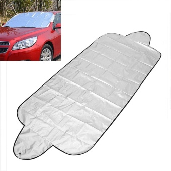 Car Windshield Shade Car Windscreen Cover Anti Snow Frost Ice Shield Dust Protector Auto Sun Cover Front Window Screen - intl