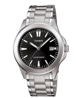 Casio Analog Mens Stainless Steel Strap Watch MTP-1215A-1A2DF