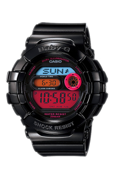 Casio Baby-G Women's Black Resin Strap Watch BGD-140-1B