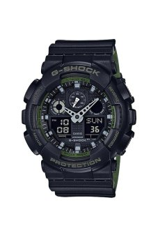 Casio G-Shock GA-100L-1A Black - intl