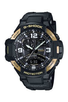 Casio G-Shock Men's Black Resin Strap Watch GA-1000-9G