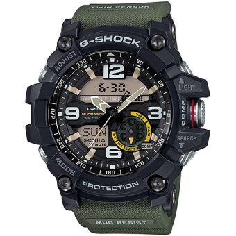 Casio G-Shock Men's Black and Green Resin Strap Watch GG-1000-1A3 Price Philippines