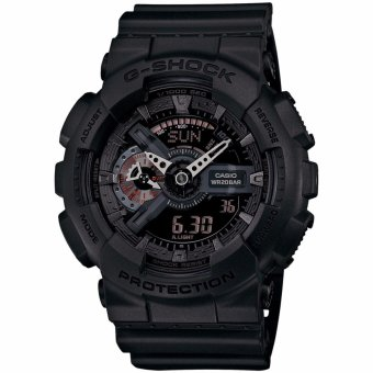 Casio G-shock Men's Watch Resin Band Black GA-110MB-1A - intl