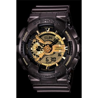 Casio G-Shock Men's Watch Resin Band Black Strap GA-110BR-5A Bestgift for Men - intl