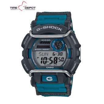 Casio G-Shock Super illuminator with protector Men's Blue Resin Strap Watch GD-400-2DR Price Philippines