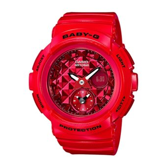 Casio G-Shock Women's Resin Strap Watch BGA-195M-4A - intl