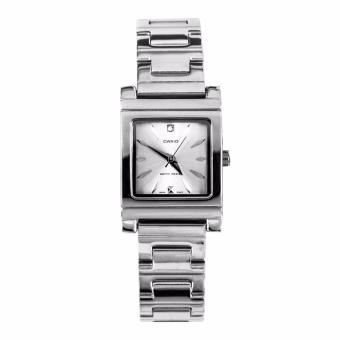 Casio Silver Stainless Steel Strap Watch for Women LTP-1237D-7A2DF