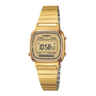 Casio Vintage Gold Series Stainless Steel Watch LA670WGA-9DF