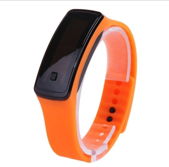 Celebrity inspired Sensing led sports bracelet watch