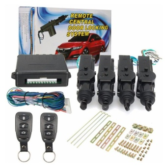 CHEER Car Remote Control Central Door Locking System Kits DC 12V Anti-theft - intl
