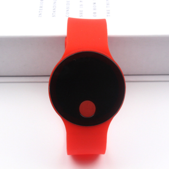 Children silicone watch digital LED Digital Display
