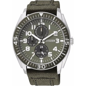 Citizen Eco-Drive Analog Green Dial Men's Watch AP4011-01W - intl