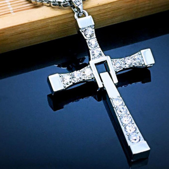 Classic Men's Rosary necklaces & pendants Cross necklace charms Furious Toretto cross women necklace men jewelry