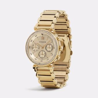 Coach Women's 1941 Chronograph Sport Gold Stainless Steel Watch