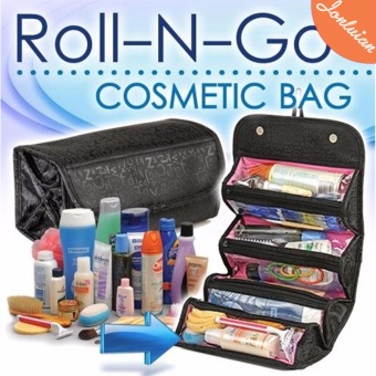Cosmetic Make Up Travel Buddy Cosmetic Toiletry Bag (Black) Price Philippines