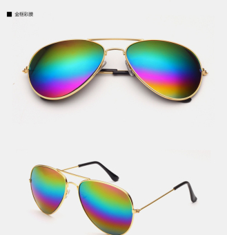 Couple's retro New style SUN glasses colorful colored Protector