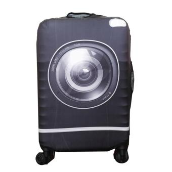 (Cover only) Elite Luggage Cover / Suitcase Cover ( Lens ) - medium