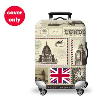 (Cover only) Elite Luggage Cover / Suitcase Cover ( London Cream )- medium Price Philippines