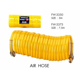 Creston Air Hose w/ Female Fittings (5meters)