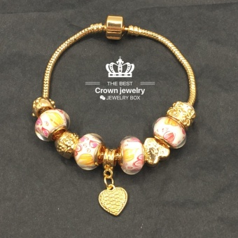 Crown Pandora Charm Bracelet (3colors)