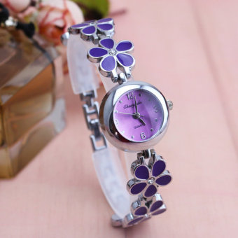 Cute simple quartz waterproof bracelet watch